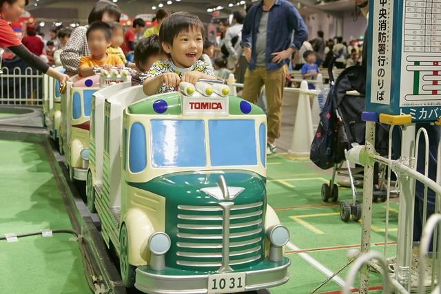 アンパンマンとのコラボも! 遊び充実のトミカ博が北九州で開催