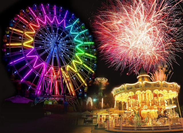 夏休みを1日満喫! 東海の「花火が楽しめるテーマパーク」6選