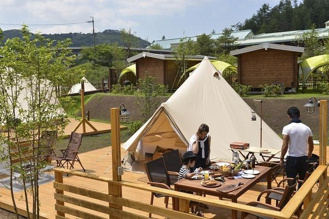関西の人気「キャンプ場」トップ5 アスレチック&遊具併設も!