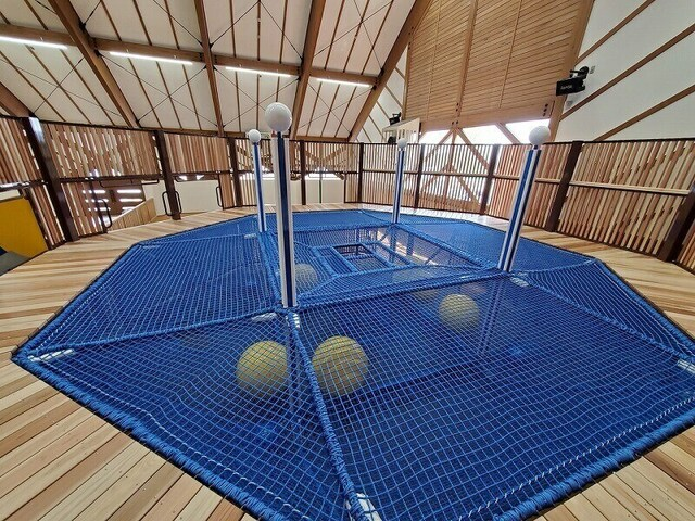 鹿沼市に無料の大型屋内遊び場OPEN! 木製玩具&大型遊具が充実