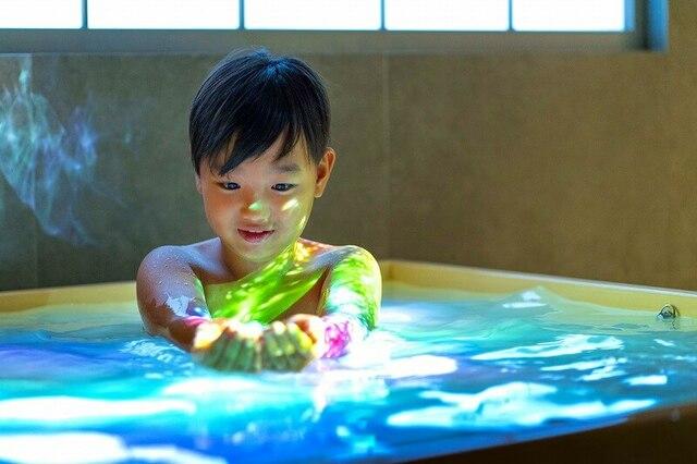 風呂でデジタルアート&ゲーム機常設 大阪に1棟貸し切り宿OPEN
