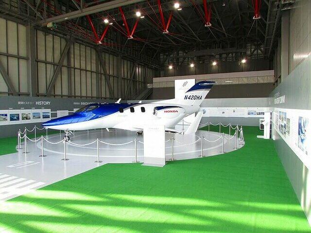 三沢航空科学館がリニューアル HondaJet常設展示&無重力体験も