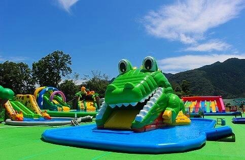 相模原市の人気遊園地に大型水遊び場 カブトムシ採り&謎解きも