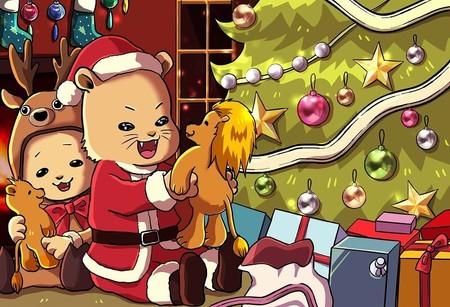 子供向け間違い探しvol4上級編 テーマはクリスマス
