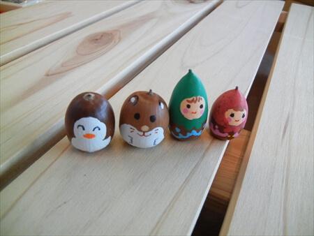 5歳〜6歳の子どもにおすすめ:どんぐり人形作り