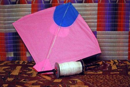 凧 揚げ 手作り