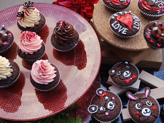 親子で楽しむバレンタインチョコ&カップケーキ教室