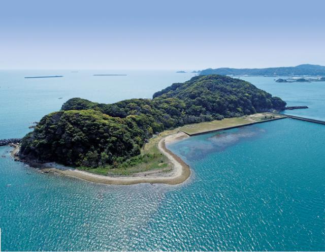 無人島キャンプ場「乙島(おとじま)」