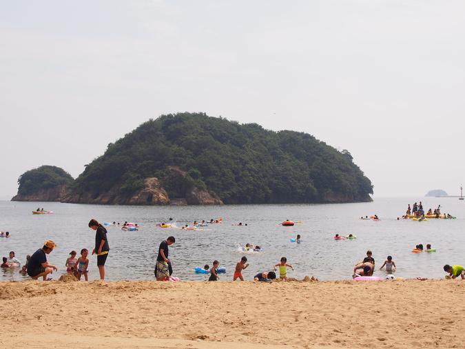 鞆の浦海水浴場