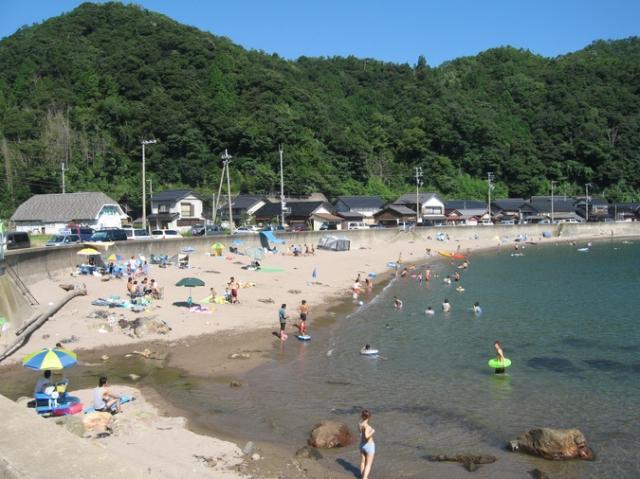 泊海水浴場(伊根町)