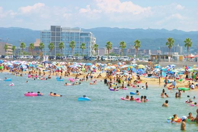 【2020年休止】りんくう南浜海水浴場 タルイ サザンビーチ