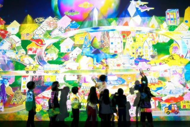 チームラボ 学ぶ!未来の遊園地 ららぽーと湘南平塚店