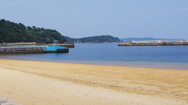 呼子小友人工海浜公園(小友浜海水浴場)