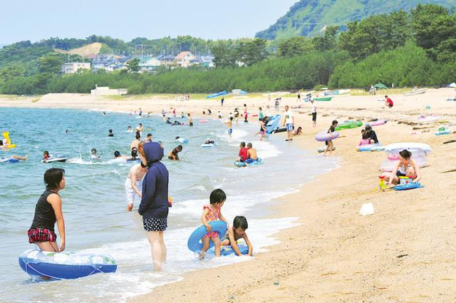 【2020年休止】虹ヶ浜海水浴場