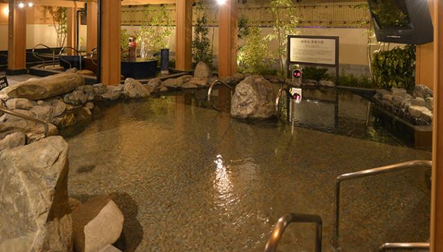 大垣天然温泉 湯の城