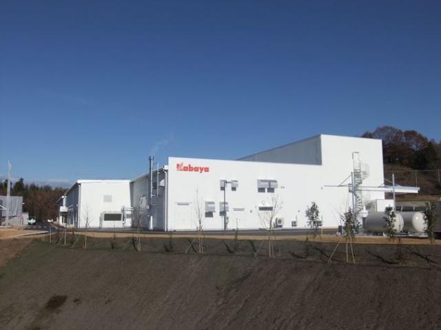 カバヤ食品 関東工場