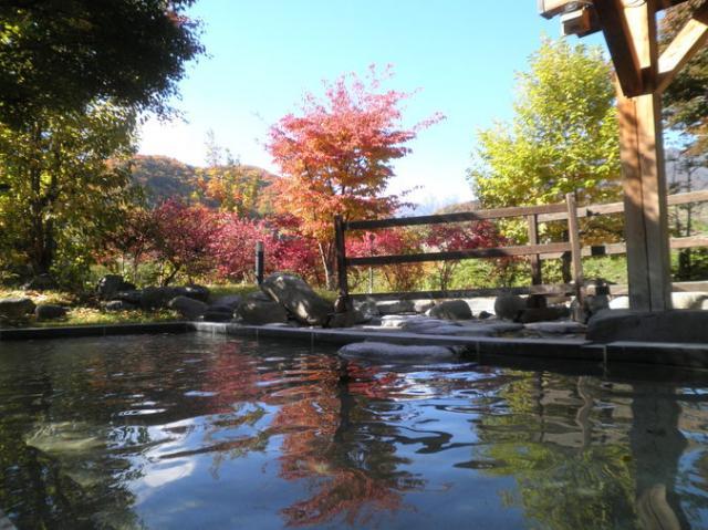 湯けむり屋敷薬師の湯・アルプス温泉博物館