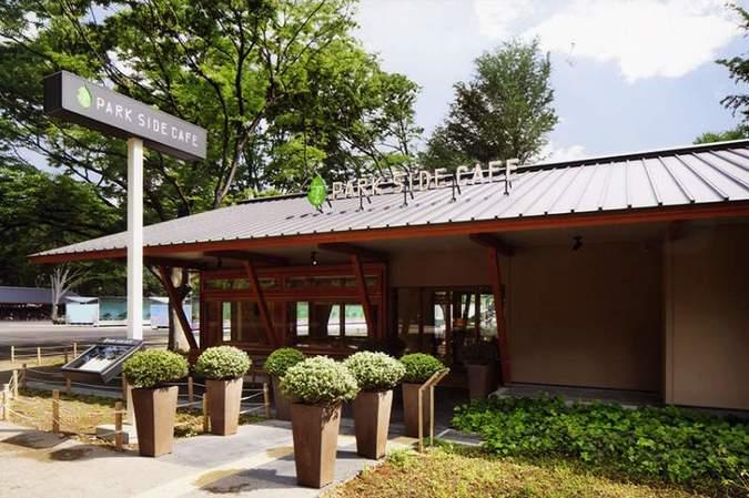 上野の森PARK SIDE CAFE(上野の森パークサイドカフェ)