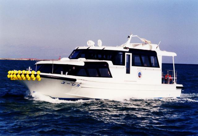 鹿島港内一周見学船 ユーリカ号