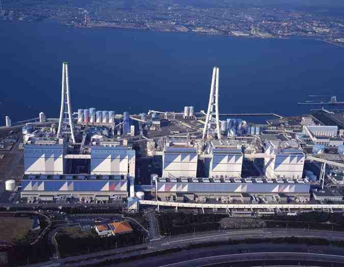 施設写真】 日本最大の石炭火力...