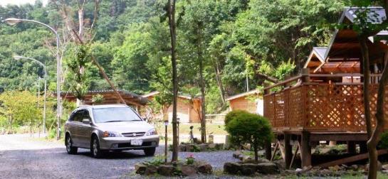 もてぎ舟木沢ログの森 キャンプ場