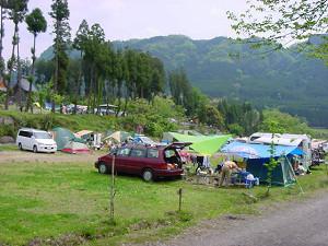 三日月の滝温泉キャンプ場