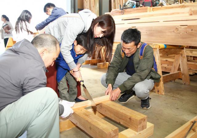 重川材木店 大工「オープンファクトリー」