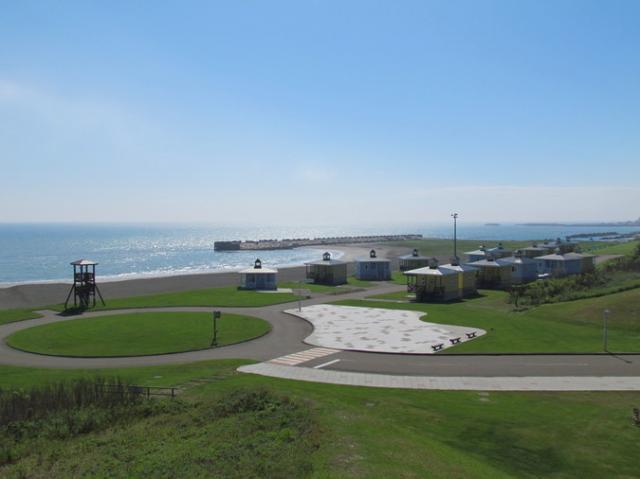 みついし海浜公園オートキャンプ場
