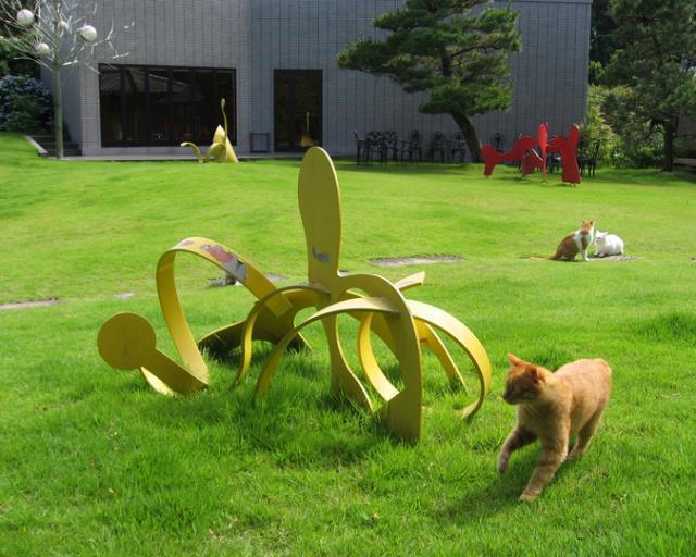 松山庭園美術館