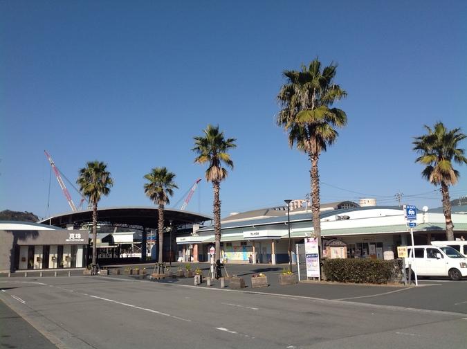 道の駅 みなとオアシスうわじま きさいや広場