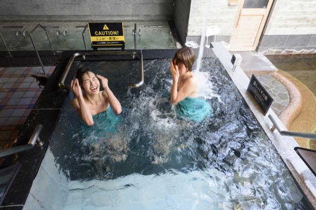 サウナと天然温泉 湯らっくす
