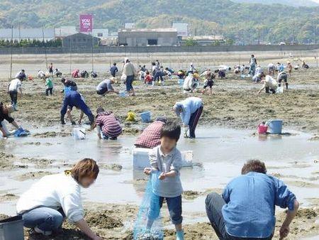 【2021年度中止】才川潮干狩り場