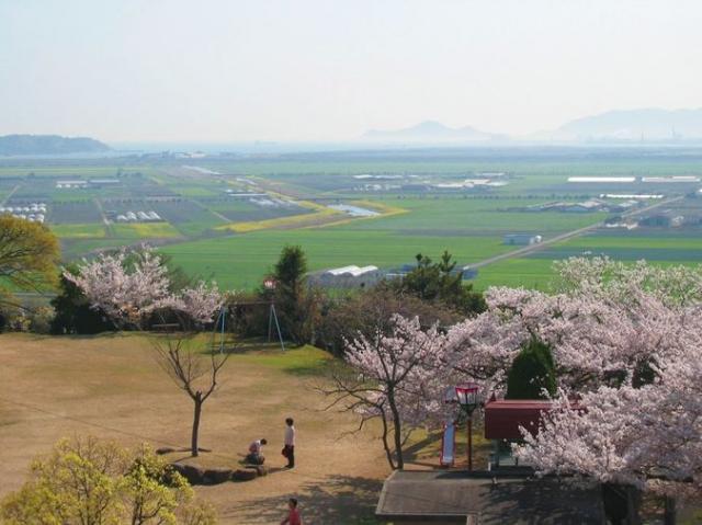 古城山公園(笠岡市)