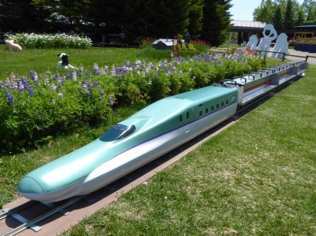 ミニ新幹線 庭園鉄道「KINOTOWN」
