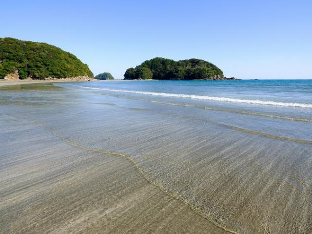 白浜海水浴場(東洋町)