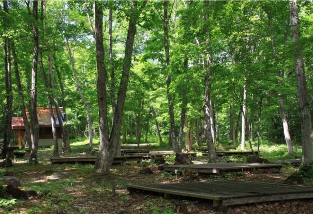 岩手県県民の森キャンプ場