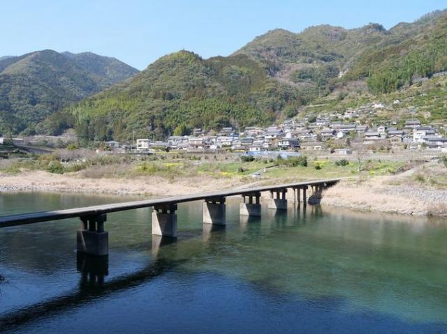 浅尾沈下橋