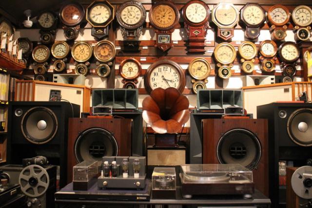 柱時計&オーディオミュージアム