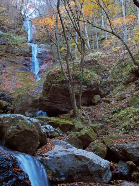三段の滝(南牧村)