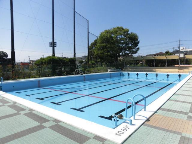 秦野市 カルチャーパーク水泳プール