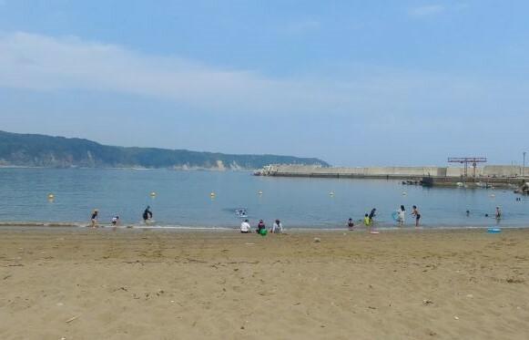 真崎海岸小港海水浴場