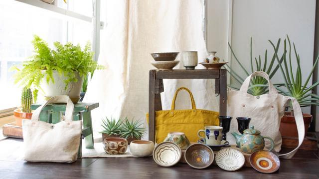 布と器と植物 こまのぐ