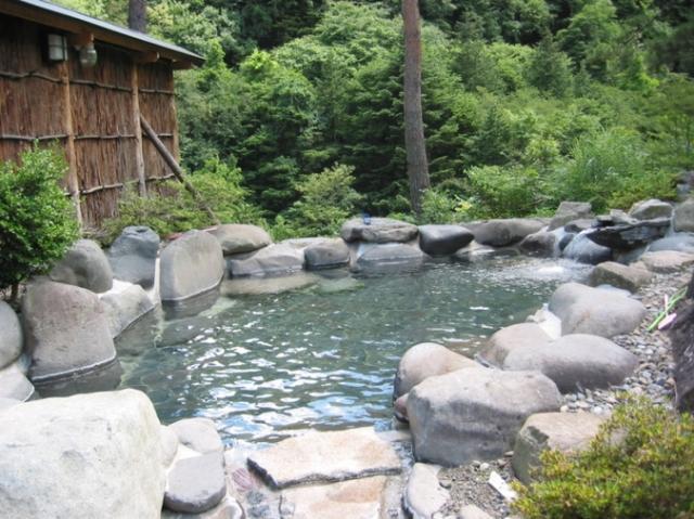 天然温泉 桧の湯