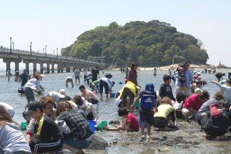 蒲郡竹島海岸