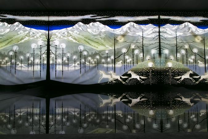 世界の影絵・きり絵・ガラス・オルゴール美術館