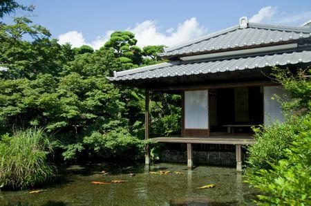 湧水庭園「四明荘」