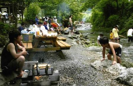 アメリカキャンプ村