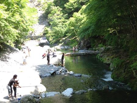 大血川渓流観光釣場