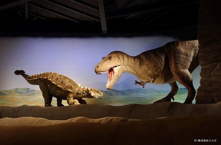 恐竜王国 中里  神流町恐竜センター