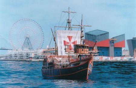 帆船型観光船サンタマリア